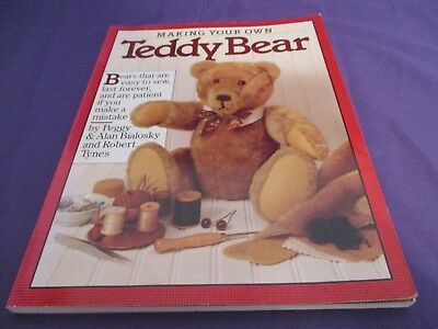 Making Your Own Teddy Bear Family Pattern Book
