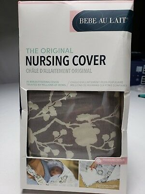 Bebe au Lait Premium Cotton Nursing Cover, Nest