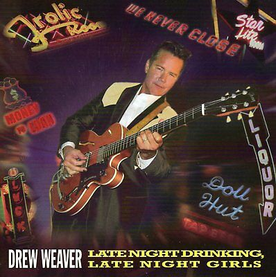 DREW WEAVER  w/ THE MAVERICKS Limited Edition SIGNED EP - Del Reeves