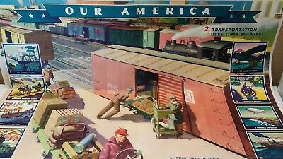 VTG Coca Cola Our America Transportation Poster #2