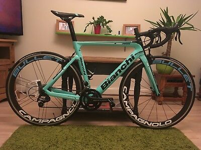 15384d32277 2018 Bianchi Aria Campagnolo Centaur 22 speed Carbon Aero Road Bike - 55cm