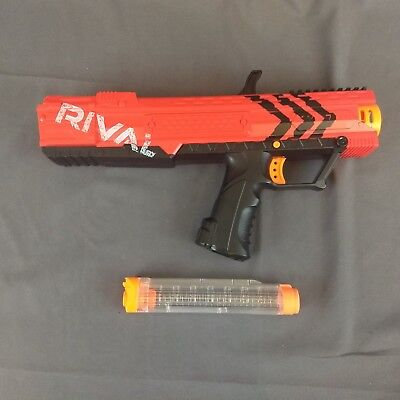 Nerf Rival Apollo XV700 Blaster Gun Spring Action 7 High Impact Rounds Red