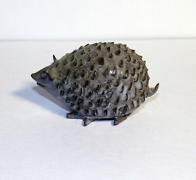 Vintage Ceramic Hedgehog, Cute, Retro, Hedgehog Figure