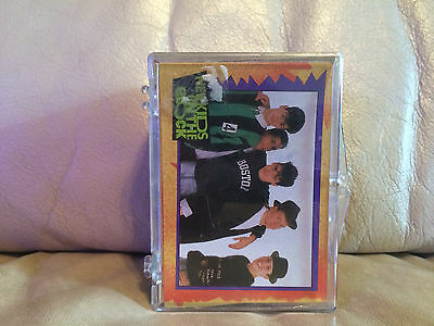 1989 New Kids On The Block 88 Card & 11 Stickers Complete Card Set
