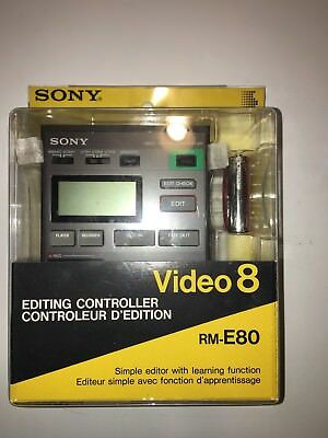 Sony Video 8 RM-E80 Editing Controller