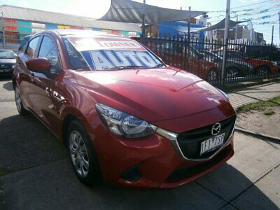 2015 Mazda 2 DJ MY16 Neo Soul Red Crystal Automatic 6sp A Hatchback