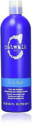TIGI Catwalk CURLS ROCK Shampoo 750ml Define Curls Control Frizz & Flyaways NEW