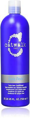 TIGI Catwalk CURLS ROCK Conditioner 750ml Reduce Breakage Frizz & Flyaways NEW