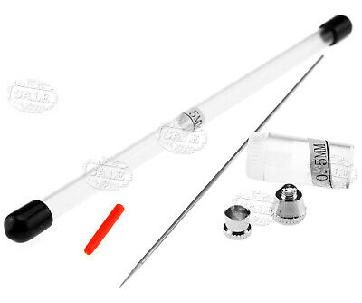 0.5Mm Airbrush Needle & Nozzle Cap Set Airbrush Needle Replacement