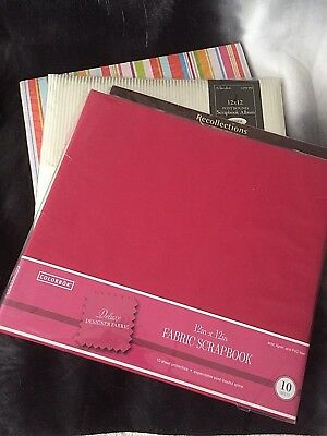 Scrapbooking Albums 12 x 12 Paper Studio - Wedding Recollections LOT 3 + 1 Pages