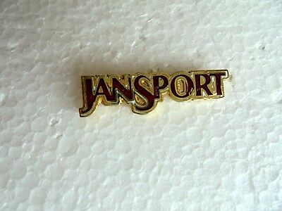 Vintage JanSport Clothing and Backpacks Enamel Advertising Lapel Pin