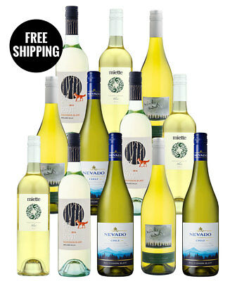Sauv Blancs, Pinot Grigio And Blends Dozen (12 Bottles)