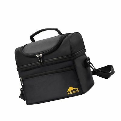 E-manis Insulated Lunch Bag Lunch Box Cooler Bag with Shoulder Strap for Men  Women ba8eeff30ae73