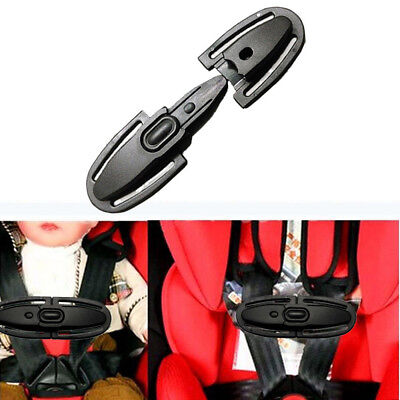 Kids Safe Lock Buckle Baby Child Car Seat Safety Strap Belts Harness Chest Clip