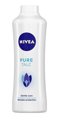 Nivea Pure Talc Powder 400 g  Gentle Care Powder