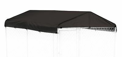 Dog Kennel Cover - WeatherGuard Medium All Season Dog Run Cover & Roof