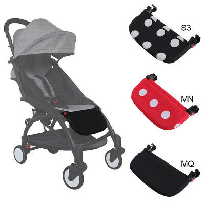 Infant Baby Stroller Lengthen Pedal Pushchair Extension Foot Board Plastic Pedal