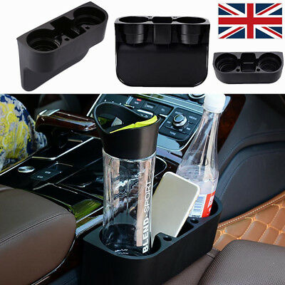 Universal Large Cup Holder Car Storage Drinking Bottle Can Mug Mount Stand Black