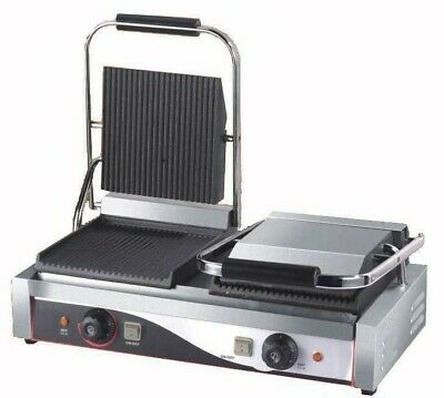 EXTRA LARGE Double Elec. Contact Grill / Panini Machine /Toasted Sandwich maker