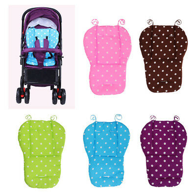 Baby Stroller Seat Pad Pram Cushion Car Auto Seat Accessories Breathable Cotton