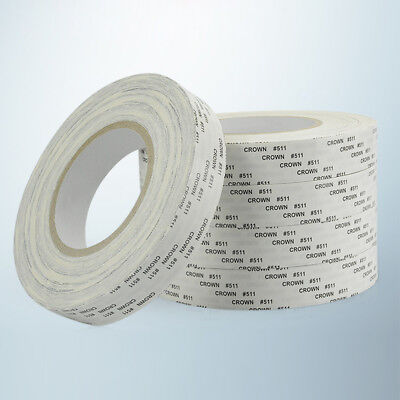 New CROWN #511 Double Sided Super Sticky Adhesive Cloth Tape High Temperture
