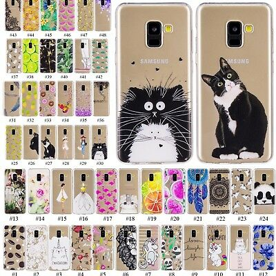 Slim Fit Soft Silicone Hybrid Thin Case Cover For Samsung Galaxy A6 A8 Plus 2018