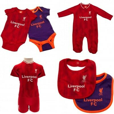 Liverpool Baby Kit Baby grow Sleepsuit Vest Shirt & Short New 2018/19 Kit Design