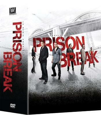 Prison Break s1 - s5 (26 DVD) - ITALIANO ORIGINALE SIGILLATO -