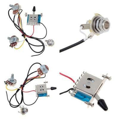 KMISE MI0316 3 Pickup Guitar Wiring Harness - Prewired with ... on electrical harness, alpine stereo harness, safety harness, amp bypass harness, maxi-seal harness, dog harness, pony harness, suspension harness, cable harness, engine harness, oxygen sensor extension harness, obd0 to obd1 conversion harness, radio harness, battery harness, fall protection harness, pet harness, nakamichi harness,
