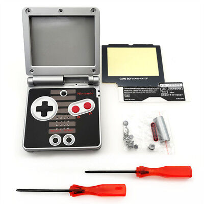 NES Version Shell Housing Case For Nintendo Game Boy Advance SP GBA SP Console