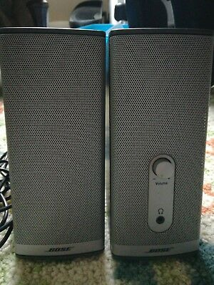 Bose Companion 2 Series II Computer Speakers - Tested w/ Power Supply