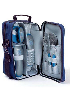 Oster seven piece grooming kit blue or pink - equine horse care & grooming