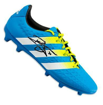 a2b0c74a0fa DELE ALLI SIGNED White and Green Adidas X 16.4 Boot Autograph Cleat ...