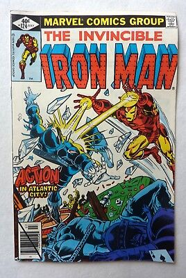 Invincible Iron Man 124,125,127,129,130 Man Bronze Age Lot FN to VFN+/NM 1979