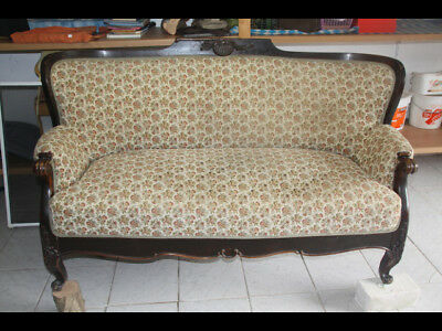 SOFA BAROCK COUCH SITZBANK SHABBY antik chippendale