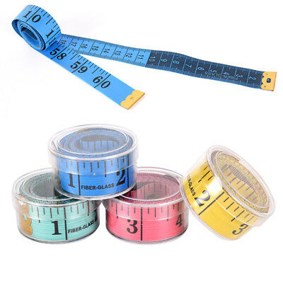 1.5m Tape Mesure Sewing Tailor Fabric Measuring Tapes Ruler Soft Fla Fg