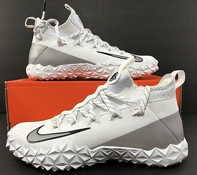 Nike Alpha Huarache 6 Elite TURF LAX LE Lacrosse Shoes 923426-101 Men's Sz 10