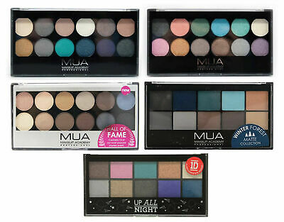 New MUA Make Up Academy High Quality Eyeshadow palette Palette Choice Of Shades