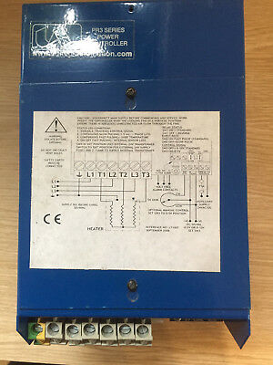 **united Automation Pr3-E-36Kw 3 Phase Burst-Fire Power Controller, Thyristor**