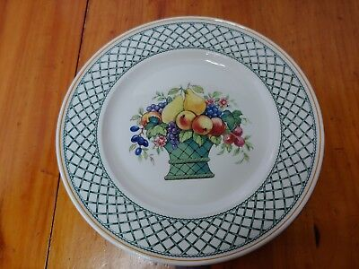 """Villeroy & Boch Basket 10 1/2"""" Dinner Plate made in Germany 3 available"""
