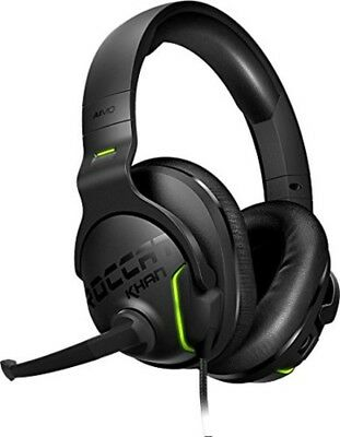 ROCCAT Khan AIMO - 7.1 Surround Gaming Headset, Hi-Res Sound, USB, AIMO LED Illu