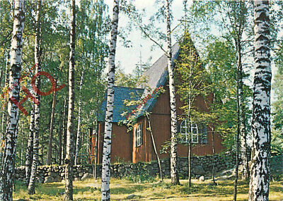 Picture Postcard:;Helsinki Seurasaari Open Air Museum, Church