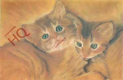 Picture Postcard~ Enterprise Cats, Mary Brown