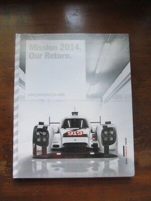 "Porsche ""Mission 2014. Our Return."" Coffe Table Book. New. WDMZ7701003320"