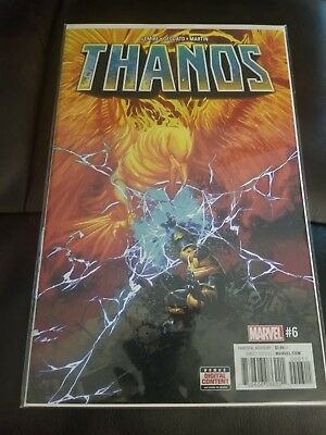 Thanos Vol2 #6 NM Key Issue Very Hot Book / Lemier Story and Deodato Art