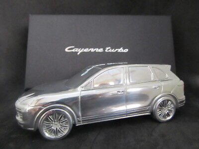 Porsche Cayenne Turbo Limited Edition 1:43 Scale Billet Aluminum Paperweight