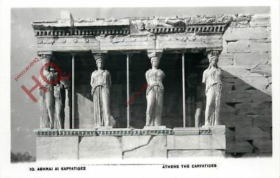 Picture Postcard:-Athens, The Caryatides