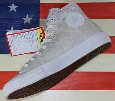 Details about CONVERSE SAMPLE Chuck Taylor ALL STAR HI Brown Thinsulate Vegan [157497C] size 9