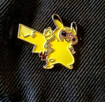Ultimate Warrior Pikachu Enamel Pin - Nintendo - WWE - Pokemon