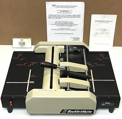 BookletMate ISP Stitching & Bindery Booklet Maker Model HME-25 (SN A030285)